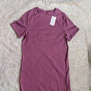 a new day Midi Mauve T-shirt Dress M